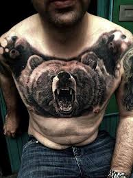 grizzly bear tattoo tattoo parlor good u0026 bad pinterest