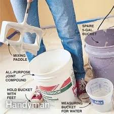 how to texture a ceiling apply knockdown u2014 the family handyman