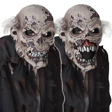 the collector halloween mask zombie ani motion mask costume craze