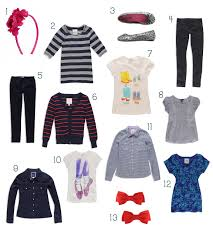 Mix And Chic by über Chic For Cheap Mix And Match Wardrobe For Little Kids