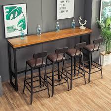 living room bar table small bar table for home minimalist modern high chair table tea shop