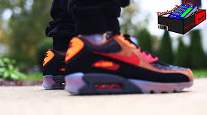 halloween sneakers nike air max 90 halloween 2014 on feet eximus beat youtube