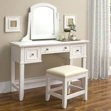 desk depression glass dressing table set white vanity table with