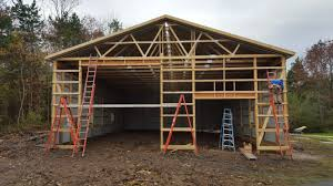pole barn pole barn installation and construction in western ny wagner