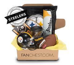 Pittsburgh Gift Baskets Pittsburgh Steelers Memorabilia Box Signed Mini Helmet Fanchest