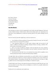 collection of solutions cover letter for mental health job with no