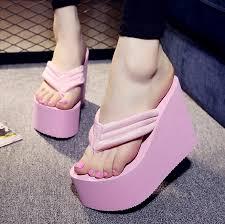 High Heel Bathtub Ladies High Heel Rubber Slippers For Women Ladies High Heel