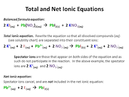 net ionic equations worksheet net ionic equations alexias ap