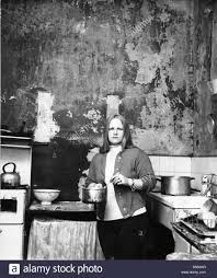 the interior of slum housing in an area of newcastle mrs campbel
