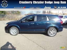 Dodge Journey Blue - 2013 dodge journey crew awd in fathom blue pearl photo 7 589680