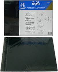 Magnetic Photo Album Pages Ncl Refills Jumbo Yr 6005 B Black Pages