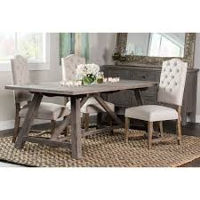 kosas home hand crafted aubrey ash reclaimed pine 86 inch dining