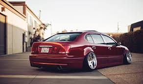 is300 slammed bagged lexus on vip car culture driven