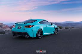 lexus rcf blue vossen wheels lexus rcf vossen forgedprecision series vps