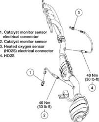 2003 ford f150 o2 sensor diagram ford o2 sensor location questions answers with pictures fixya