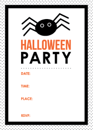 halloween party invitations orionjurinform com