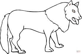 coyote 14 coloring page free printable coloring pages