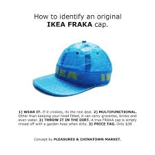 pleasures and chinatown market to release ikea hat domino