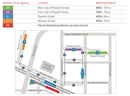 Metra Rail Map Hurstbridge Metro Trains