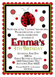 invitations for 13th birthday party ladybug invitations ladybug birthday party bug invitations