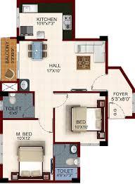 House Plan Temple Waves Floor Plan Houses In Chennai 1 Bhk Houses 1 Bhk Duplex House Plans
