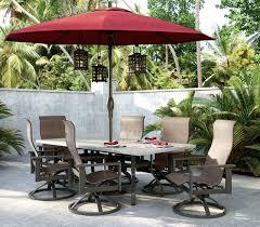 Patio Furniture Umbrella Outdoor Patio Furniture Stonegate Homecrest Outdoor Living