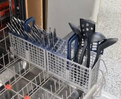 Kitchenaid Dishwasher Utensil Holder Samsung Dw80j7550us Dishwasher Review Reviewed Com Dishwashers