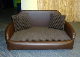 Leather Sofa And Dogs Large Leather Beds Dogs World