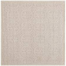 Square Wool Rug Safavieh Handmade Moroccan Cambridge Light Pink Ivory Wool Rug 4