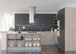 grey kitchen walls with light wood cabinets 40 gorgeous grey kitchens