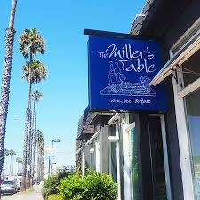 Miller Table The Miller U0027s Table Sign Picture Of The Miller U0027s Table Oceanside