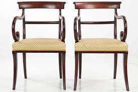 Antique Dining Room Chairs Eight 19th Century English Regency Antique Dining Chairs Circa