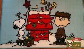 snoopy dog house christmas peanuts brown snoopy dog christmas ornament tree figurine