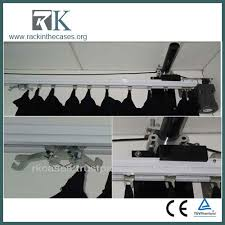 Pulley Curtain Systems Stage Curtain Track System Curtain Track With Pulley Syestem Buy