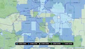 Zip Code Map Denver by April 2015 Sale Prices Map In Denver