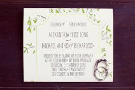 Wedding Invitations Dallas Bohemian Dallas Wedding Ruffled