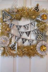 Decoration For New Year At Home by Diy Tutorial New Year U0027s Eve Tinsel Ball Drop Hostess With The