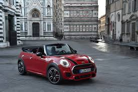 2016 mini john cooper works goes in new convertible guise