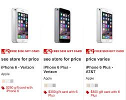 target smartphone deal black friday deals 2016 250 target gift card with new iphone 6 southern savers