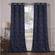 Sunbrella Curtains With Grommets by Kensie Curtains U0026 Drapes Window Treatments The Home Depot