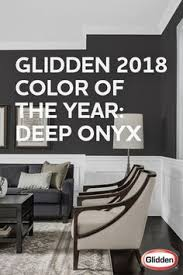 glidden paint 2018 color of the year is deep onyx porch ceiling
