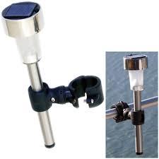 davis instruments raillight mini solar powered light west marine