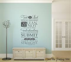 trust in the lord wall decal proverbs 3 5 6 decal vinyl zoom