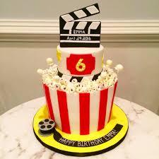 Movie Themed Cake Decorations Movie Birthday Cake One Belle Bakery