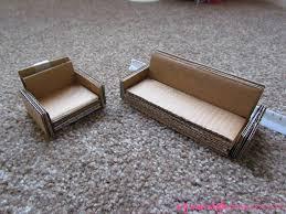 How To Make Modern Dollhouse Furniture My Dollhouse Cardboard Furniture Blogged At My Mod Style U2026 Flickr