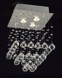 Modern Crystal Chandeliers Modern Crystal Chandelier U003e 117 00 Bubble Design Three Lights