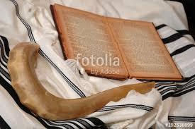 shofar tallit shofar tallit and book stock photo and royalty free