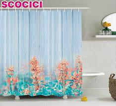 popular flower garden shower curtain buy cheap flower garden