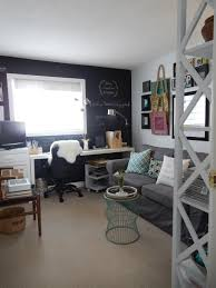 office and guest room reveal just decorate