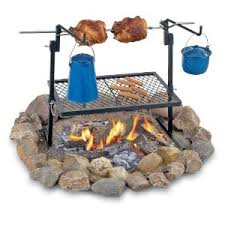 Outdoor Fireplace With Cooking Grill by How To Pick A Campfire Cooking Grill Camping Gear